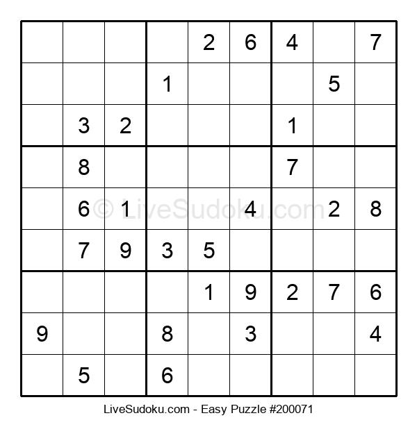 Beginners Puzzle #200071