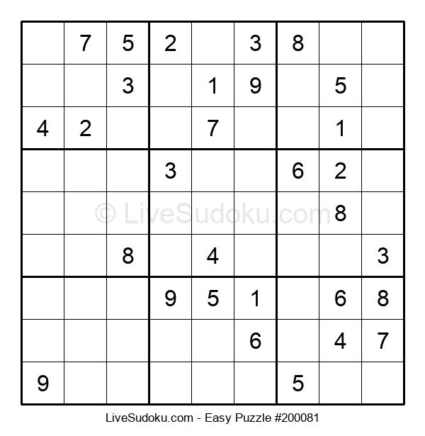 Beginners Puzzle #200081