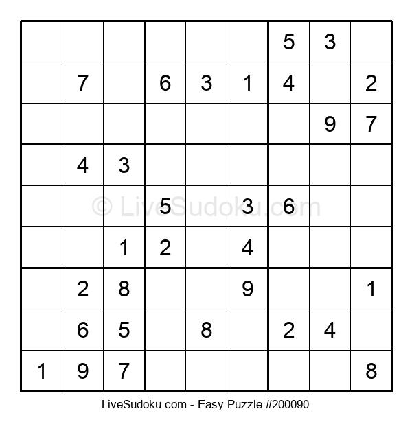 Beginners Puzzle #200090