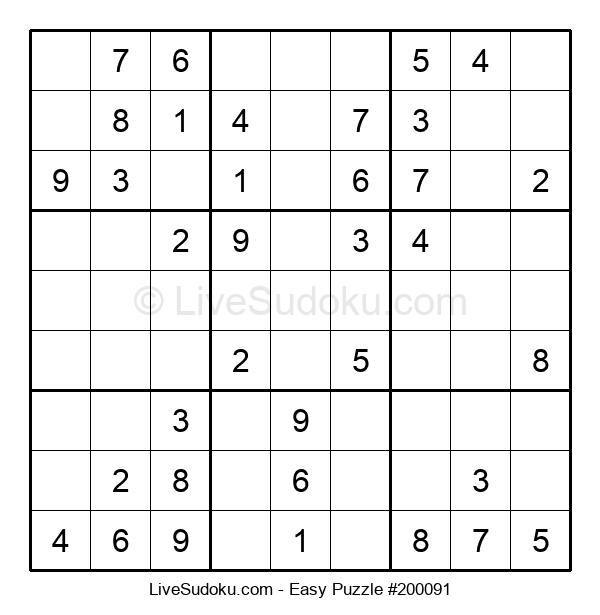 Beginners Puzzle #200091