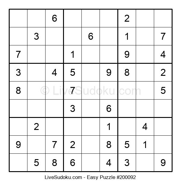 Beginners Puzzle #200092