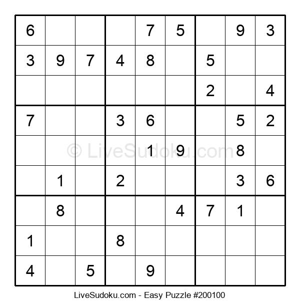 Beginners Puzzle #200100