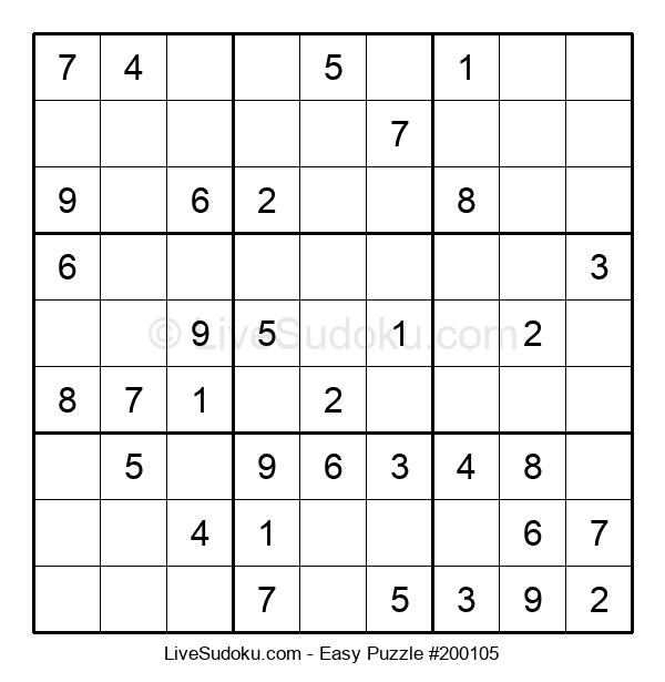 Beginners Puzzle #200105