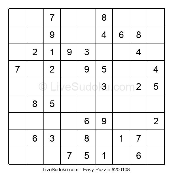 Beginners Puzzle #200108