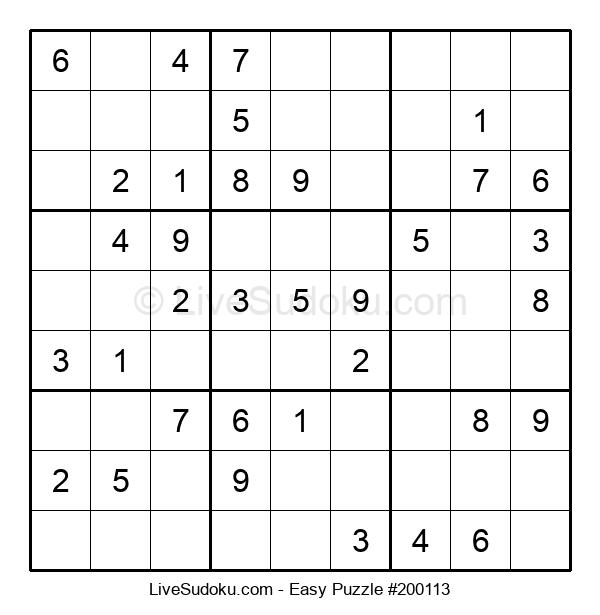 Beginners Puzzle #200113