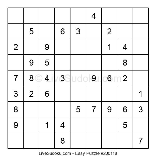 Beginners Puzzle #200118