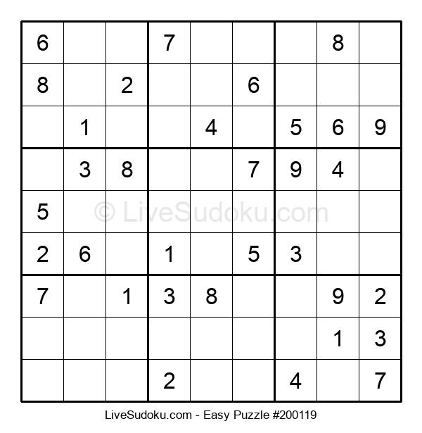 Beginners Puzzle #200119