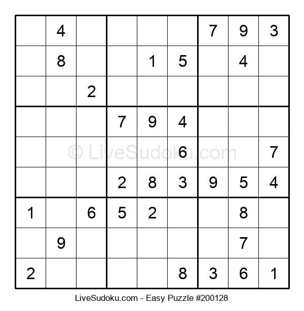 Beginners Puzzle #200128