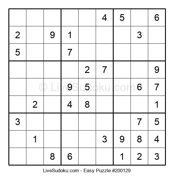 Beginners Puzzle #200129