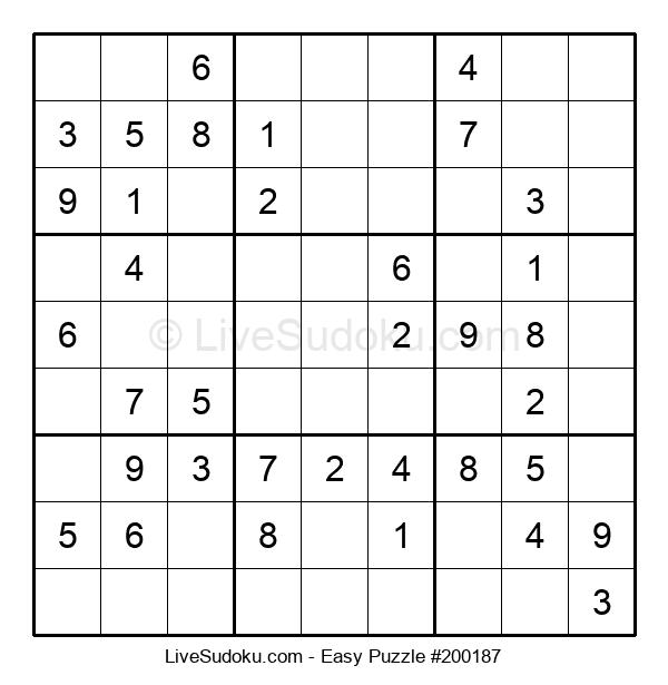 Beginners Puzzle #200187