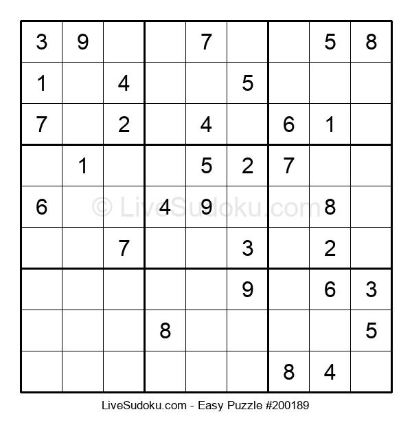 Beginners Puzzle #200189