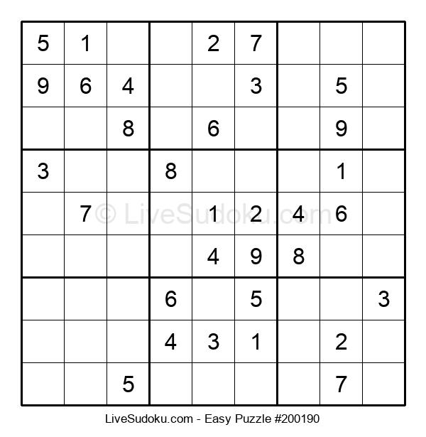Beginners Puzzle #200190