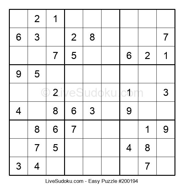 Beginners Puzzle #200194