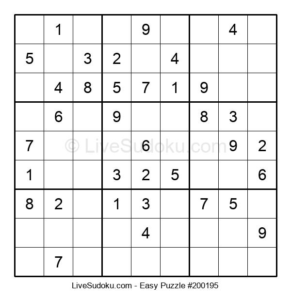 Beginners Puzzle #200195