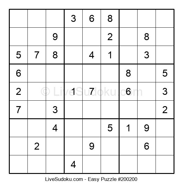 Beginners Puzzle #200200