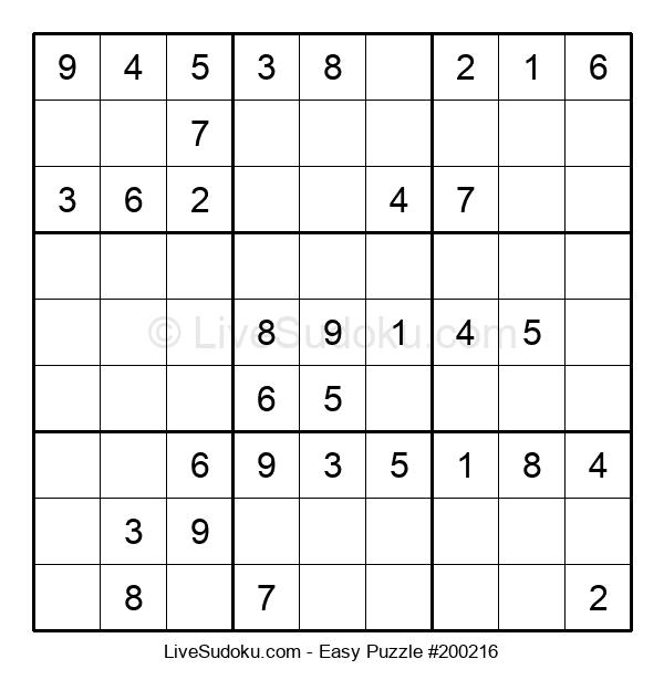 Beginners Puzzle #200216