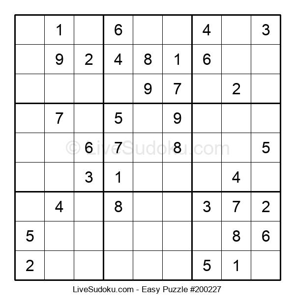 Beginners Puzzle #200227