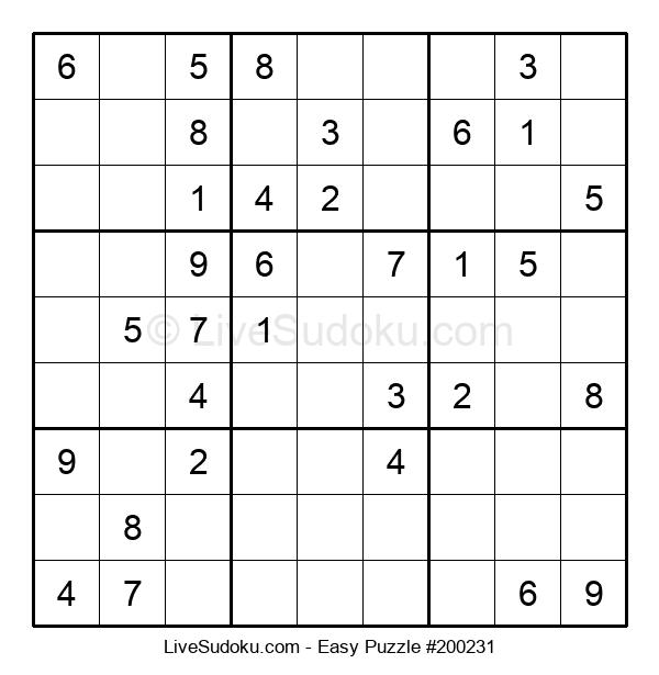Beginners Puzzle #200231