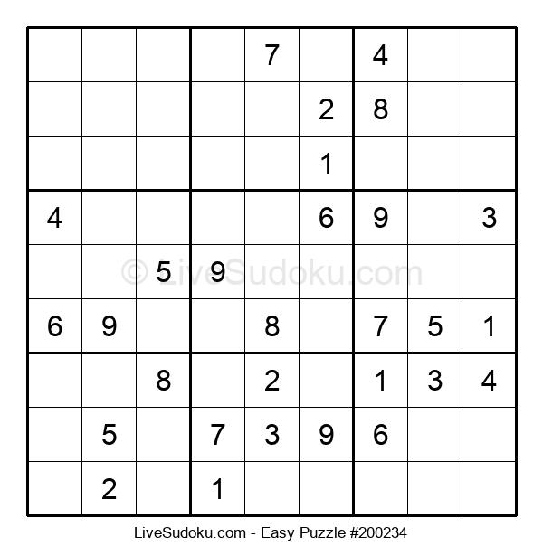 Beginners Puzzle #200234