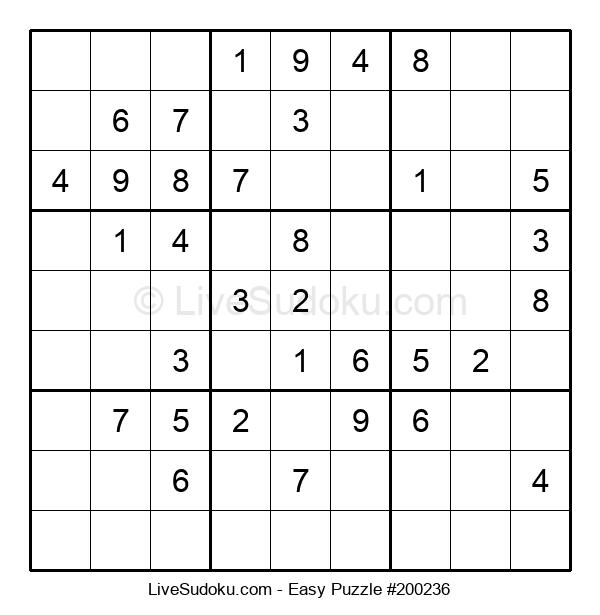 Beginners Puzzle #200236