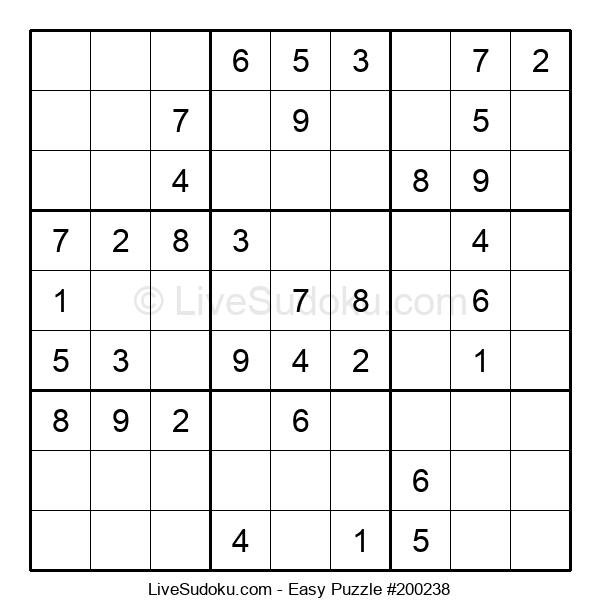 Beginners Puzzle #200238
