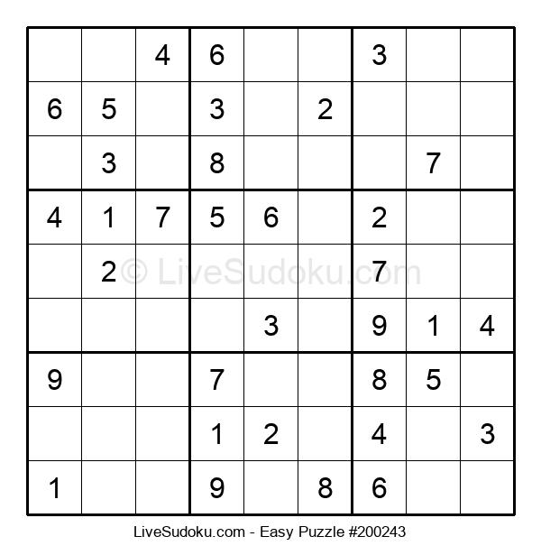 Beginners Puzzle #200243