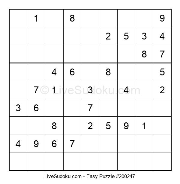 Beginners Puzzle #200247