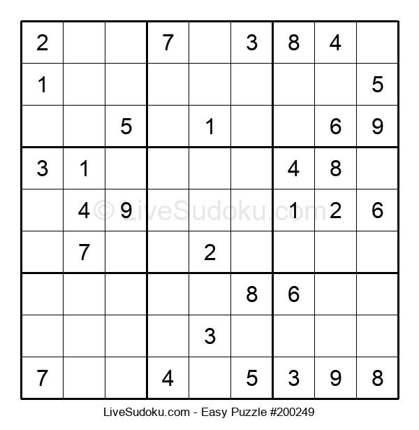 Beginners Puzzle #200249