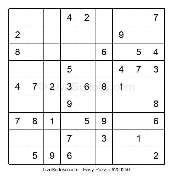 Beginners Puzzle #200250