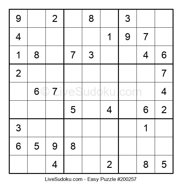 Beginners Puzzle #200257