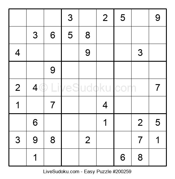 Beginners Puzzle #200259