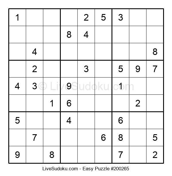 Beginners Puzzle #200265