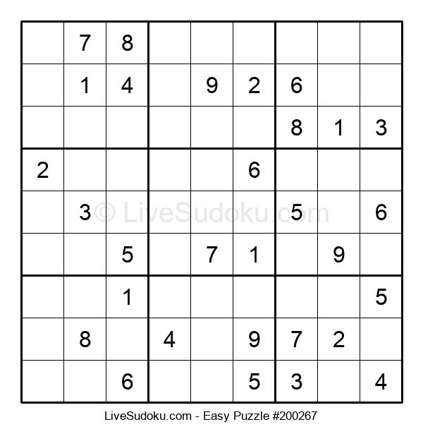 Beginners Puzzle #200267