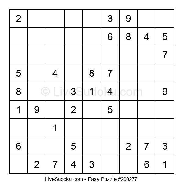 Beginners Puzzle #200277