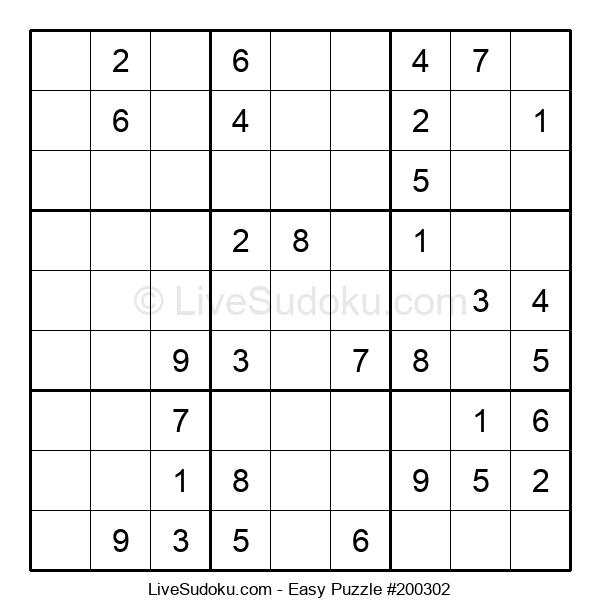 Beginners Puzzle #200302
