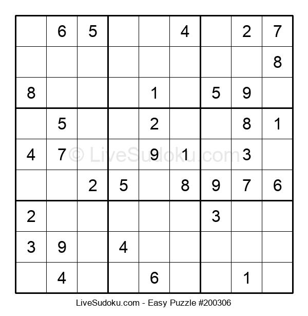 Beginners Puzzle #200306