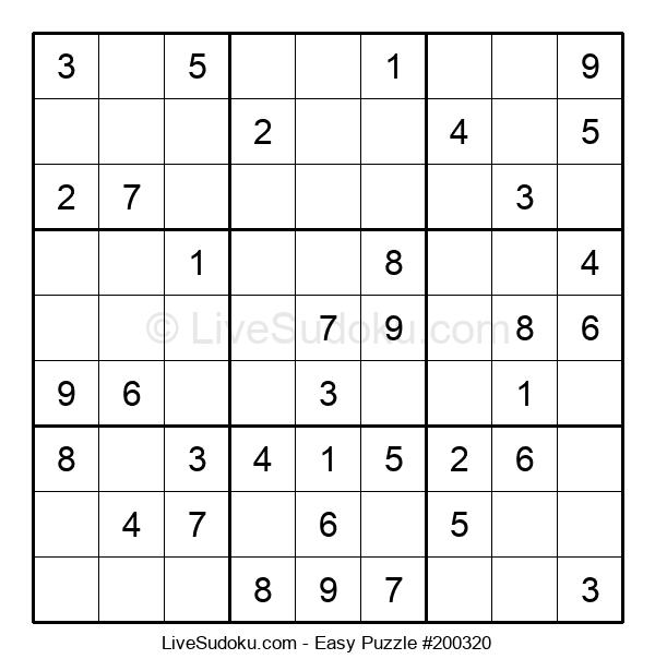 Beginners Puzzle #200320