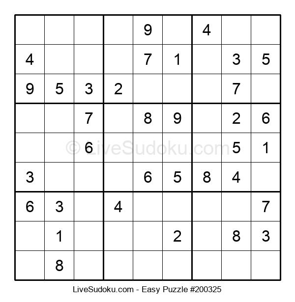 Beginners Puzzle #200325