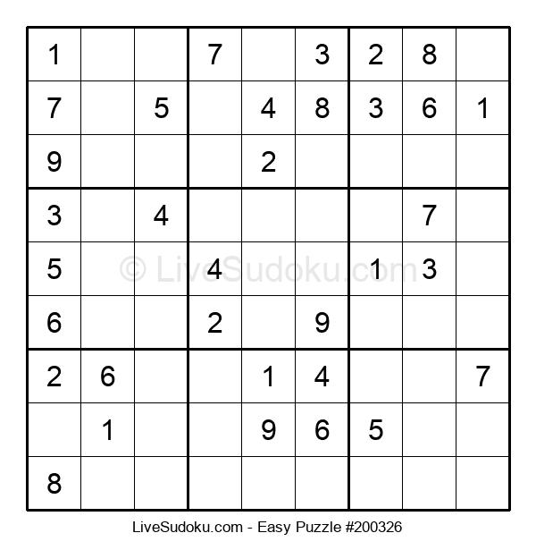 Beginners Puzzle #200326
