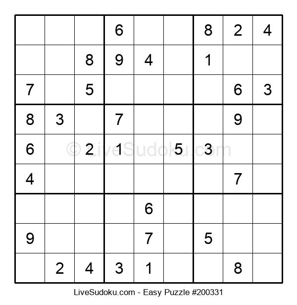 Beginners Puzzle #200331