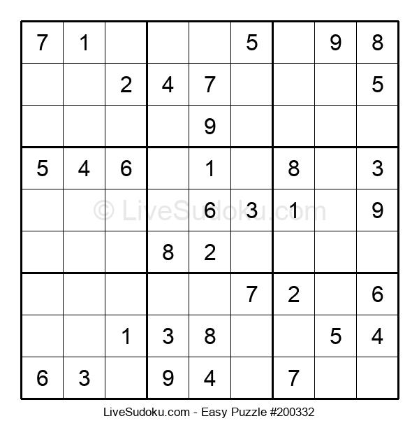 Beginners Puzzle #200332