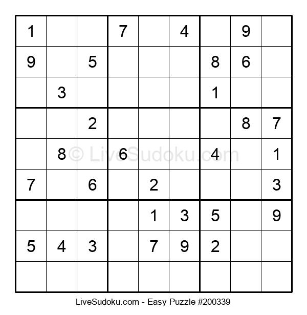 Beginners Puzzle #200339