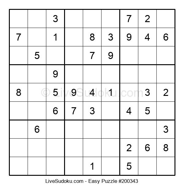Beginners Puzzle #200343
