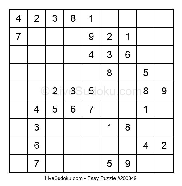 Beginners Puzzle #200349