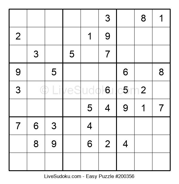 Beginners Puzzle #200356