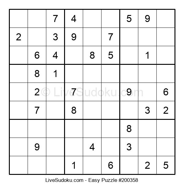 Beginners Puzzle #200358