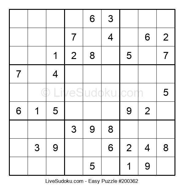 Beginners Puzzle #200362