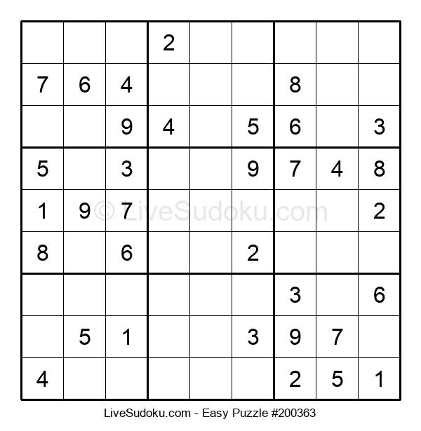 Beginners Puzzle #200363