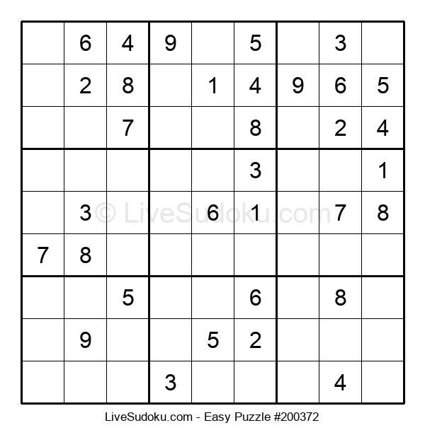 Beginners Puzzle #200372