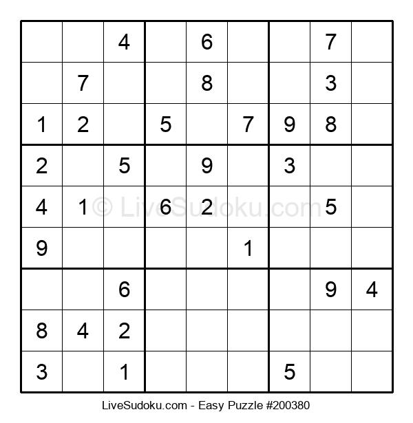 Beginners Puzzle #200380